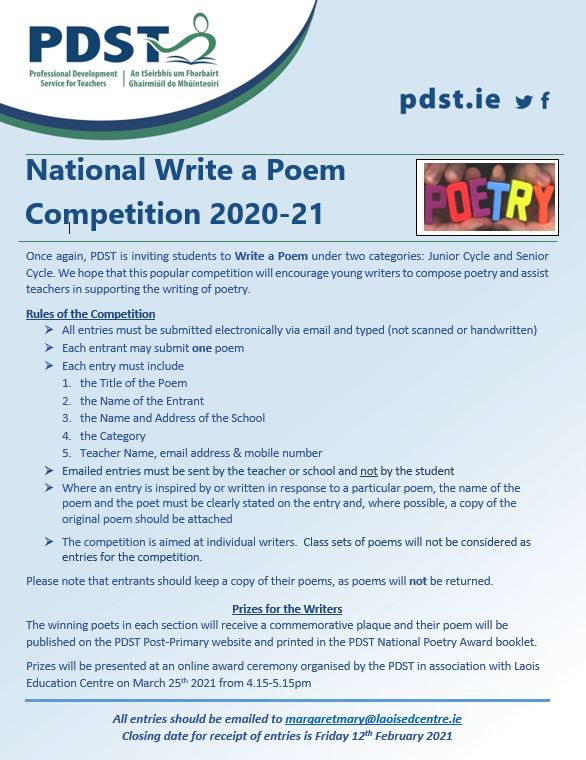 PP Poetry comp